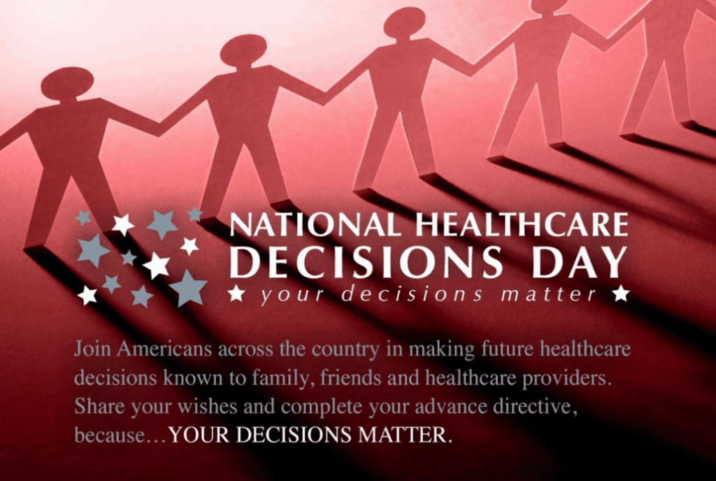 national healthcare decisions day flyer