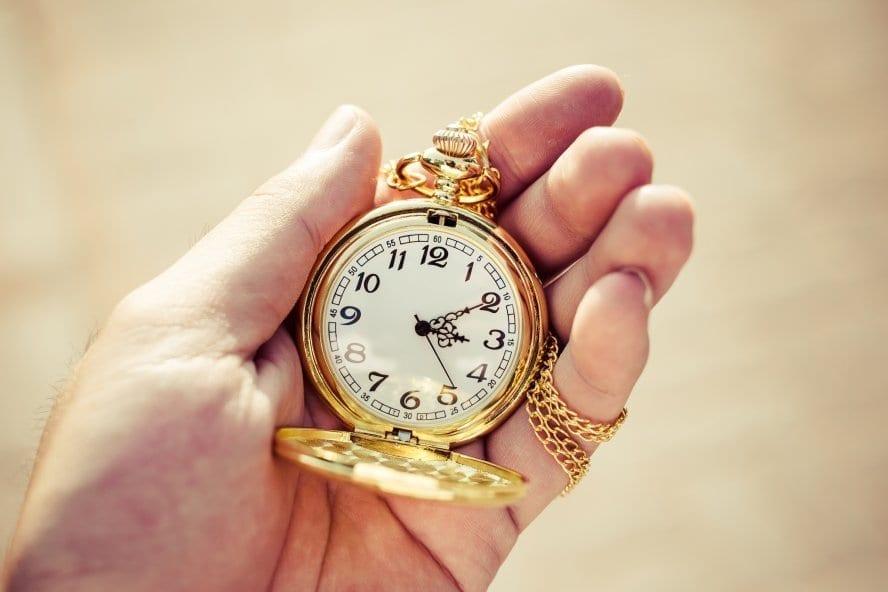 pocketwatch close up