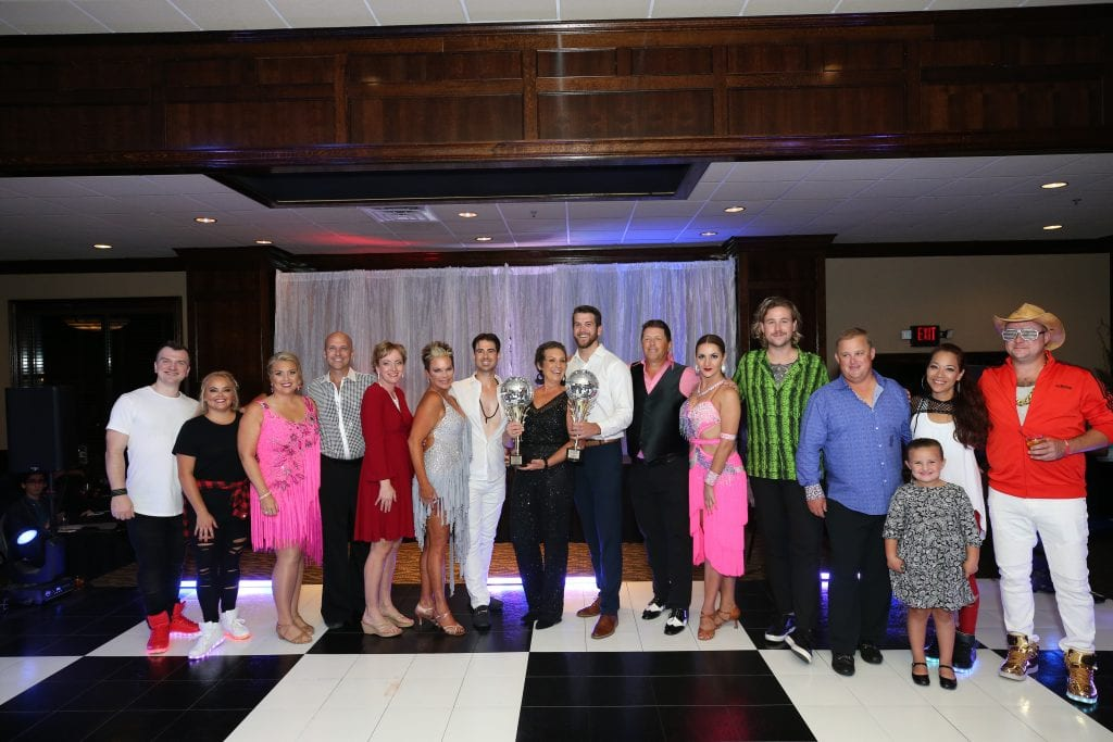 local celebrities dance for a cause