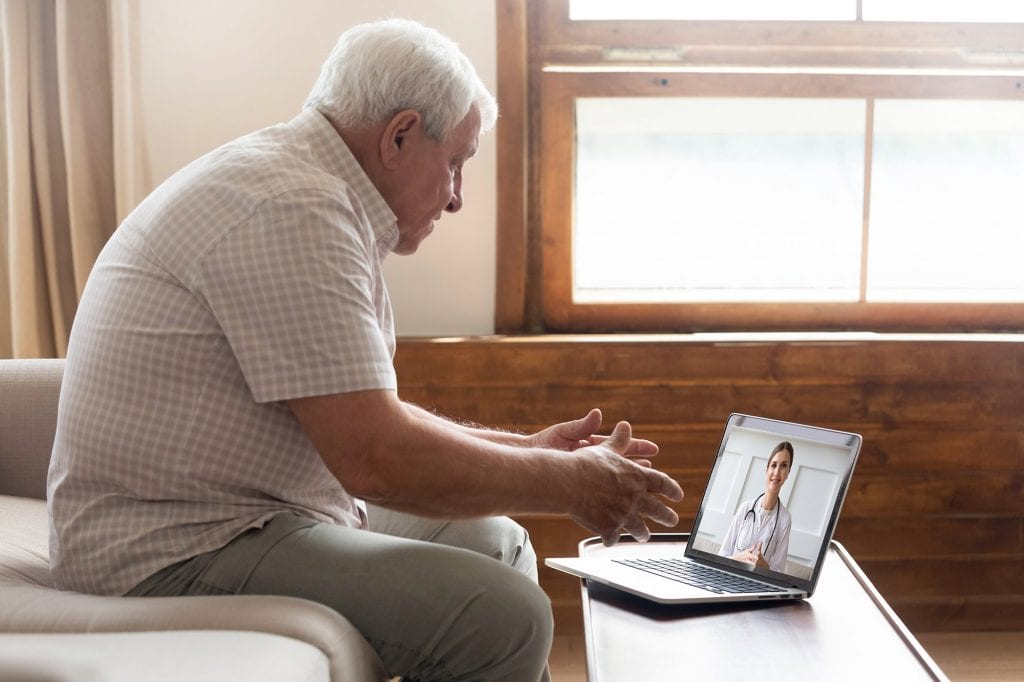 Tapcloud Telehealth appointment