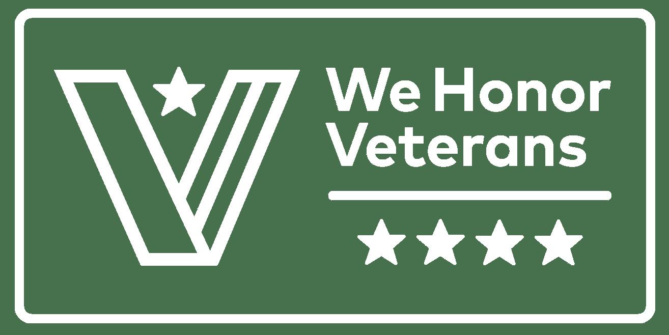 We Honor Veterans Logo