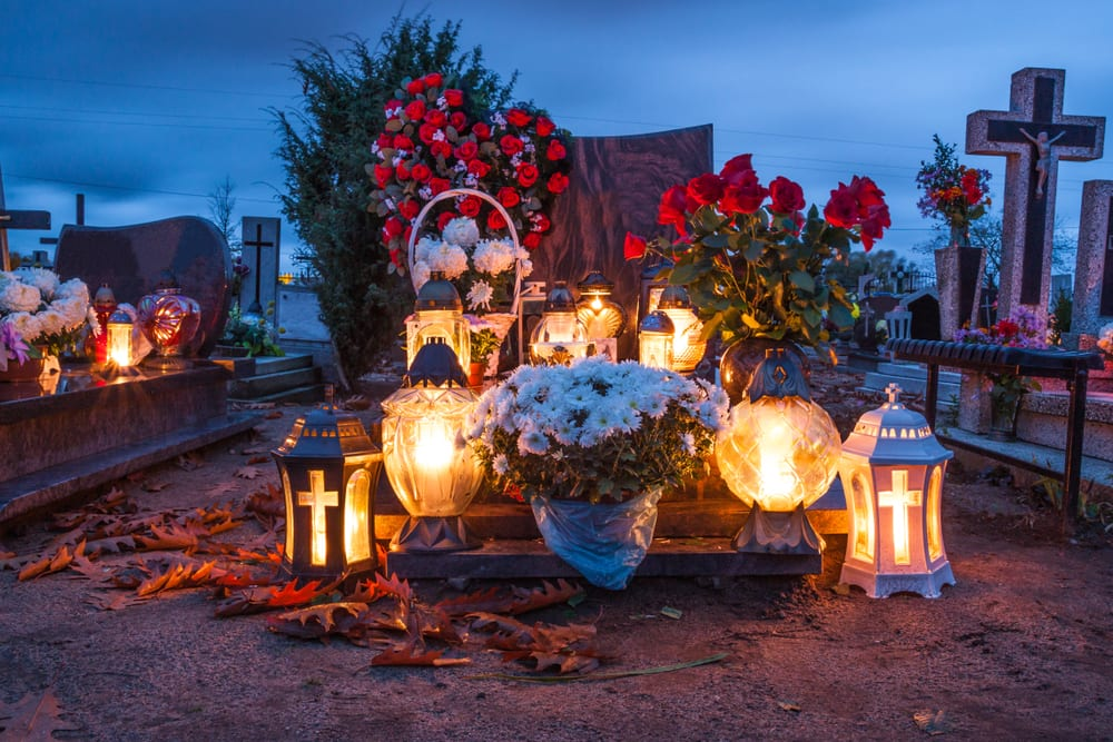 day of the dead burial site