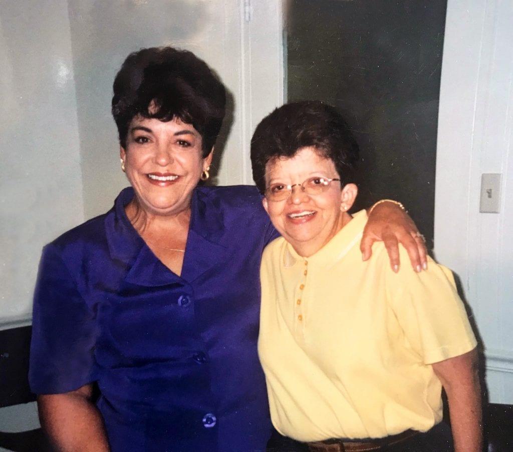 Glenda honoring a friend