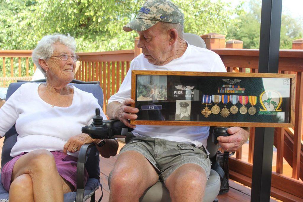wife and veteran patient